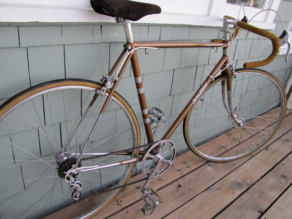 Regretfully sold: my 1974 Raleigh Super Tourer