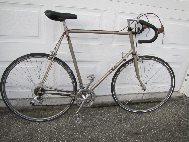 Vintage Trek and Specialized bikes, a Short Review and History