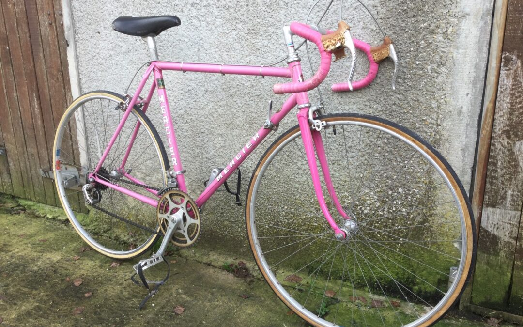 Mercier Rose with Shimano 600 Groupset